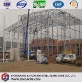 Venda quente China que projeta pre a oficina da construção de aço do edifício