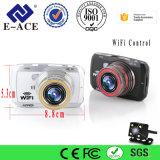 3 polegadas de lente dupla câmara Dash com o gravador de vídeo