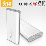 X19 16000mAh Banque d'alimentation mobile portable avec sortie double pour le téléphone