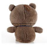 O brinquedo do luxuoso da novidade, vem no projeto do urso, pedidos do OEM é bem-vindo