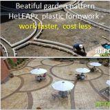 庭の歩道の速のプラスチック型枠作業、より少なく費用、Reusabl、ライト級選手