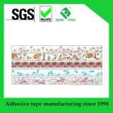 De cinta de papel japonés impresa aduana de Washi para el rectángulo de la decoración y de regalo