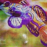 Drapeau r3fléchissant d'impression polychrome résistante de Digitals de temps