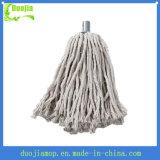 Limpeza de cabeça de esfregão de algodão molhado