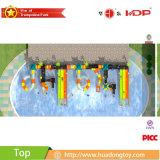 熱い新製品の遊園地プラスチック水スライド