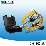Sistema impermeable de la cámara del examen de la alcantarilla de Wopson con la cámara Self-Leveling de 50m m