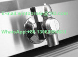 friggitrice elettrica dell'acciaio inossidabile 19+19L con la valvola dell'olio