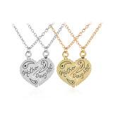 Lega Pendant d'imitazione della collana del cuore rotto di giorno della madre degli migliori amici della madre & della figlia dei monili