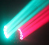 큰 꿀벌은 사건, 나이트 클럽, 쇼 및 DJ를 위한 LED 광속 단계 이동하는 맨 위 빛을 주목한다