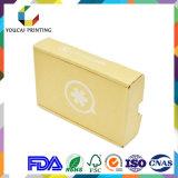 Caja ondulada plegable de encargo con la impresión del color para el empaquetado del producto