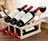 Cremagliera del vino di legno solido/contenitore di legno di vino per i commerci all'ingrosso