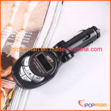 Kit de carregador de telefone transmissor FM com leitor de MP3 de carro Carregador de carro