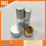 Bottiglia senz'aria d'argento dello spruzzatore della pompa per l'imballaggio del profumo