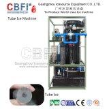 Máquina de hacer hielo del tubo comercial más nuevo del diseño con las toneladas diarias/día del ~ 30 de la capacidad 1