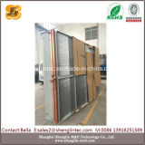 Intercambiador de calor aire / agua de cobre para enfriamiento industrial