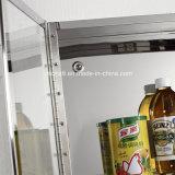 Armadio da cucina fissato al muro dell'acciaio inossidabile 7035