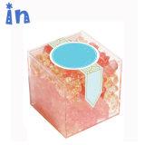 En acrylique transparent boîtes faveur de mariage Candy boîte cadeau avec couvercle