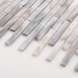 Плитки мозаики оптовой серой ванной комнаты строительного материала стеклянные