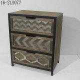 Armoires de tiroir en bois chic et doux