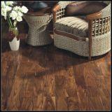 Agregado/piso de madeira de acácia sólido comercial/piso de madeira