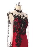 2017 новых женщин конструкции способа одевают шикарное платье партии втулки платья вечера длиннее