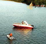 24FT Outboat Style e Fiberglass Half Cabin Luxury Yacht