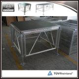 Estágio interno portátil do estágio de alumínio do conjunto mini