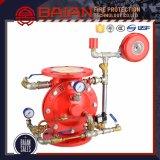Prix pour la vanne d'alarme Système automatique d'arrosage par incendie Vanne de contrôle d'alarme humide