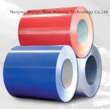 Prepainted bobinas de acero galvanizado (PPGI/PPGL) / color acero recubierto de Galvanzied