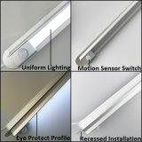 PIR Motion Sensor Rigid LED Strip para casa, iluminação de gabinete