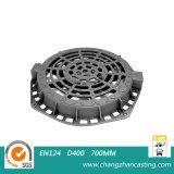 E600 연성이 있는 철 맨홀 뚜껑
