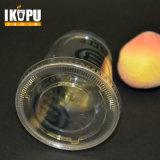 Tazza a gettare trasparente libera della plastica dell'animale domestico stampata abitudine