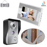 Vidéo de sécurité d'accueil de 7 pouces sonnette de la caméra vidéo Intercom Door Phone
