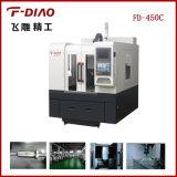 Fresagem CNC com processamento de metal com sistema Syntec 21mA (FD-450C)