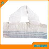 La impresión en color de la bolsa de azúcar en tejido de polipropileno con asa