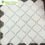 Polished водоструйная каменная мозаика мрамора плитки пола для строительного материала