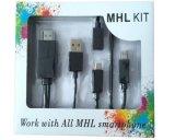 Micro USB di Mhl all'adattatore del cavo di HDMI HDTV