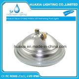 luz subaquática da piscina do diodo emissor de luz da lâmpada ao ar livre PAR56 de 18watt 12V