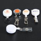 Einziehbare Abzeichen-Halter-Plastikbandspule für Abzuglinie kundenspezifisch anfertigen