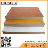 Madeira de grão de melamina MDF na China