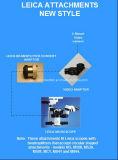 Divisor de feixe de Leica e adaptador video de Leica para o microscópio de operação