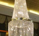 Lámpara pendiente cristalina extravagante para el hogar o el hotel