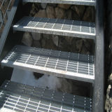 Stahl Material Stabrost Treppenstufe H
