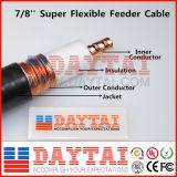 """7/8 """" câble coaxial de liaison de câble d'alimentation"""