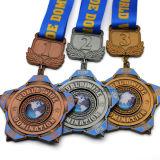 주문을 받아서 만들어진 아연 합금 7km 운영하는 포상 스포츠 메달