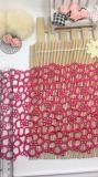 標準的な卸売18.5cmの幅の刺繍の衣服のアクセサリ及びホーム織物及びカーテンの装飾のトリミングのためのナイロンレースポリエステル刺繍のレースファブリック