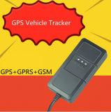 Dispositivo GPS a la vía de un vehículo