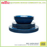 Bumpy Design EU Market Hot Sell Melamine Dinner Set