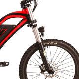 デザイン肩のフォークが付いている電気マウンテンバイクを成熟させなさい