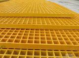 Grille de sol en plastique FRP Anti Slip